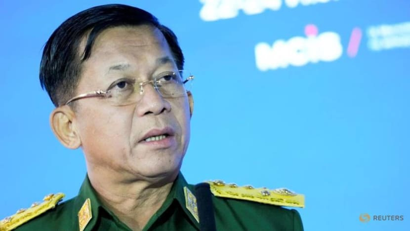 Myanmar military ruler promises elections, says ready to work with ASEAN
