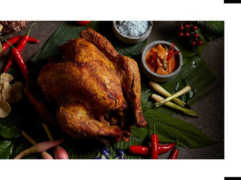 The hottest turkeys in town this season? They're full of Asian spices