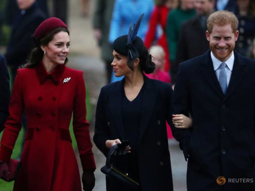 UK royals attend traditional Christmas service in Sandringham