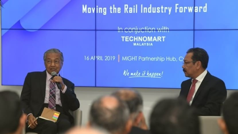 KL-Singapore HSR not necessary; priority is to improve existing rail network: Mahathir