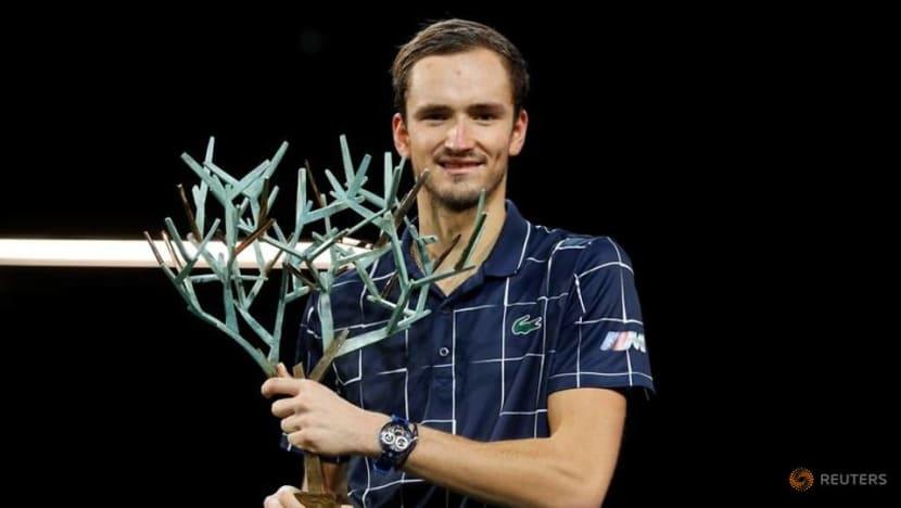 Tennis: Medvedev wears down Zverev in Paris to claim third Masters title