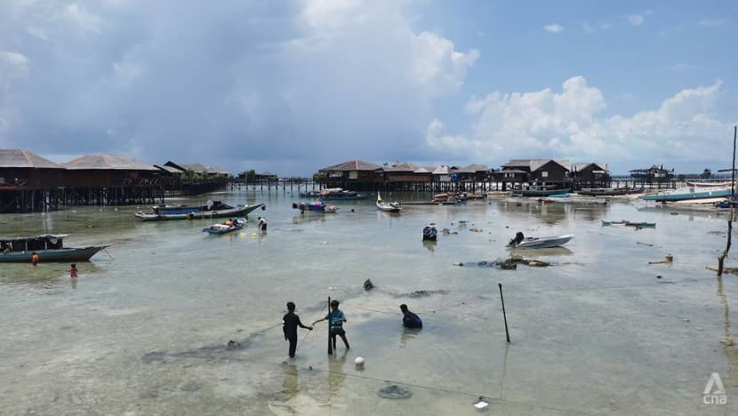 Sabah sea gypsies grapple with dwindling fish catch, sinking villages as climate change threatens way of life