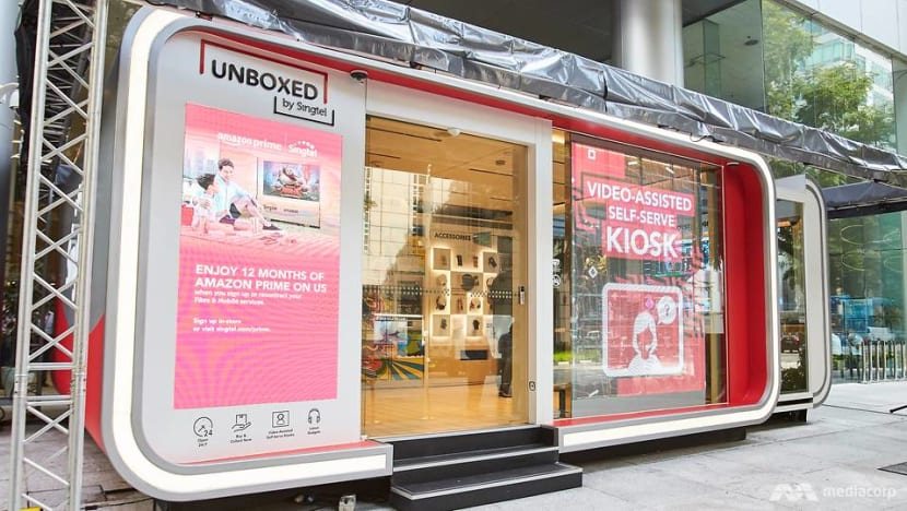 Lost your phone? Say hello to Singapore's first 24-hour unmanned telco store