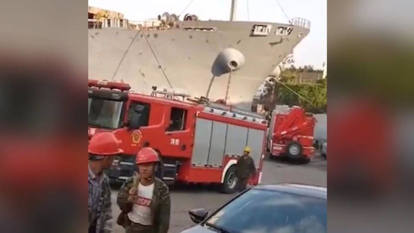10 dead in eastern China after ship leaks gas