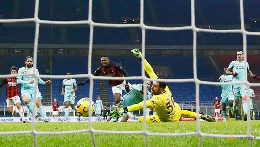 Football: Tatarusanu proves shootout hero for AC Milan in Italian Cup