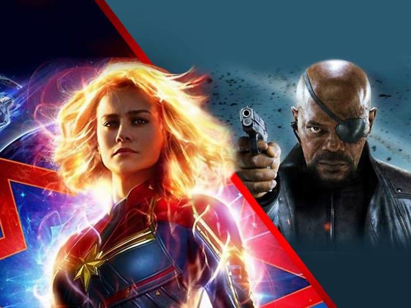 Meet Captain Marvel's Brie Larson, Samuel L. Jackson and Gemma Chan in Singapore on Feb 14