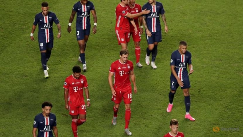 Champions League final goalless at halftime