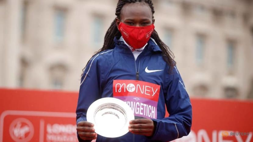 Olympics-Kenya's Chepngetich among favourites for marathon gold in Tokyo