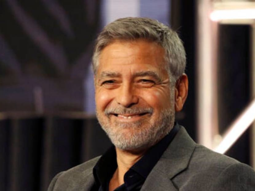 Watch A-list actor George Clooney do a dramatic reading of BTS' Dynamite
