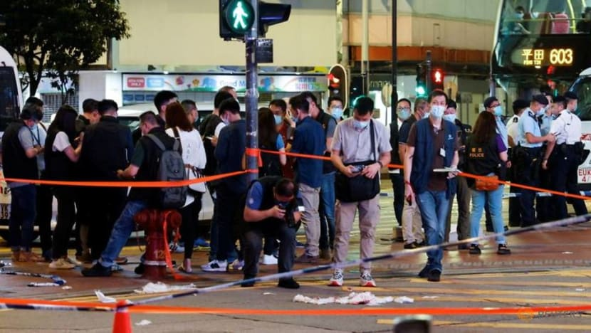 Hong Kong police officer stabbed in 'lone wolf' attack: Security chief
