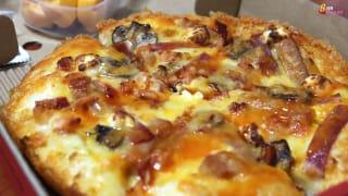 "Pizza Hut #Cheesy7 比萨有新""成员""!"