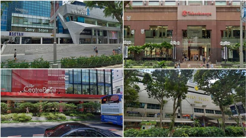 4 Orchard Road malls among places visited by COVID-19 cases while infectious