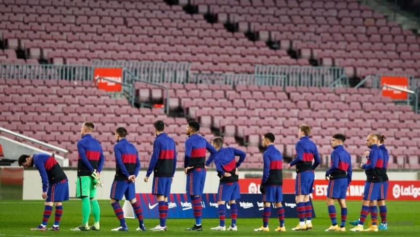 Barca to face PSG in Champions League last 16