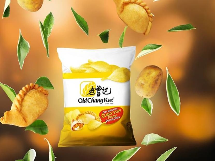 Singapore snack alert: Old Chang Kee launches curry puff potato chips