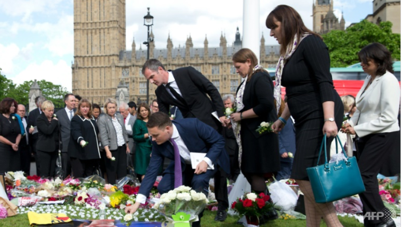 Britain's Johnson stirs outrage over murdered MP quip