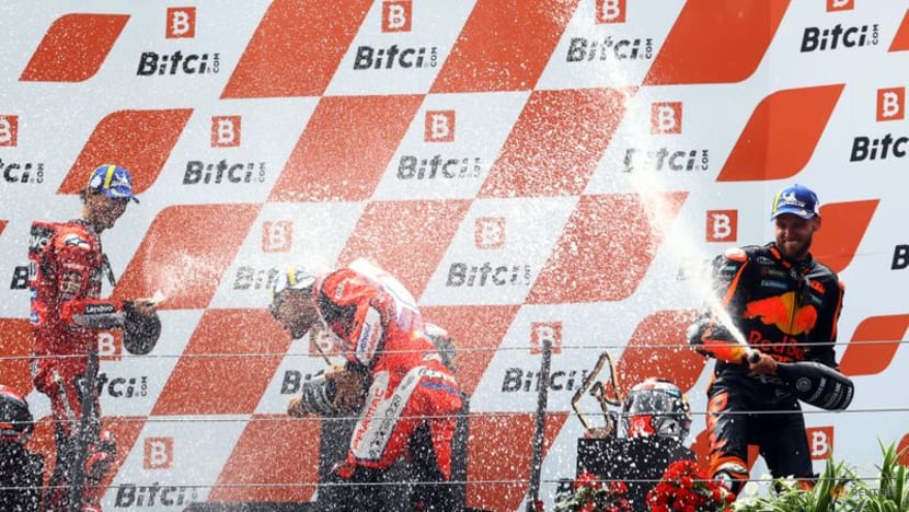 Motorcycling: Binder wins in Austria after tyre gamble pays off