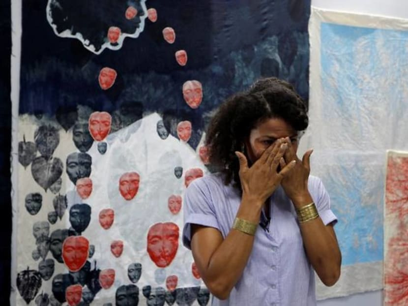 'Black Lives Matter' movement stirs Ghanaian artist in COVID-19 limbo