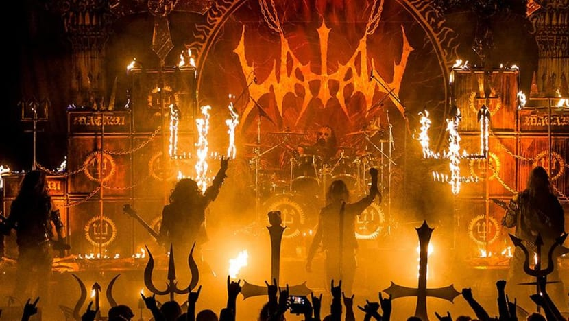 Swedish black metal band Watain's gig in Singapore cancelled due to 'security concerns'