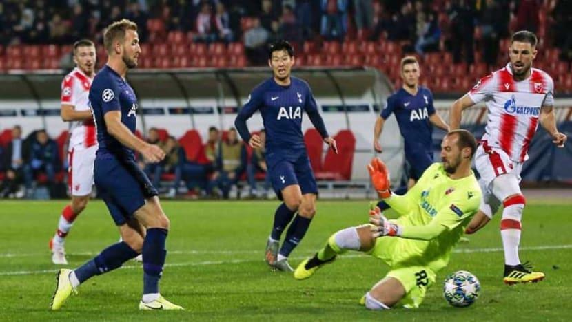 Football: Son bounces back with a brace as Tottenham thrash Red Star again