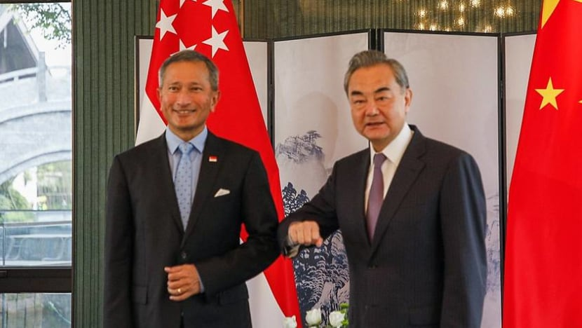 Chinese Foreign Minister Wang Yi to make working visit to Singapore