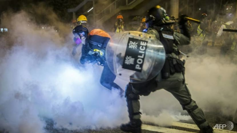 148 arrested, 800 tear gas rounds fired during Monday's protests in Hong Kong: Police