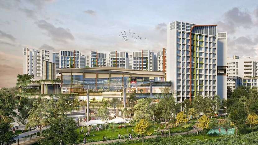 HDB launches roadmap for designing towns, with focus on healthy living, green spaces and smart technology