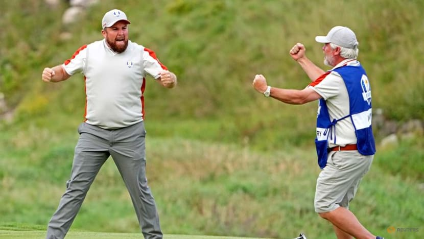 Europe are not out of the Ryder Cup fight, says Lowry