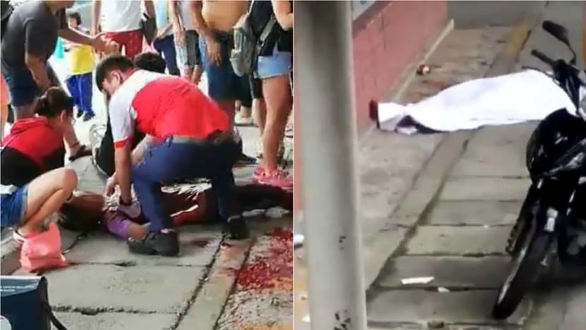 Man stabbed to death, teen slashed in fight at Johor school