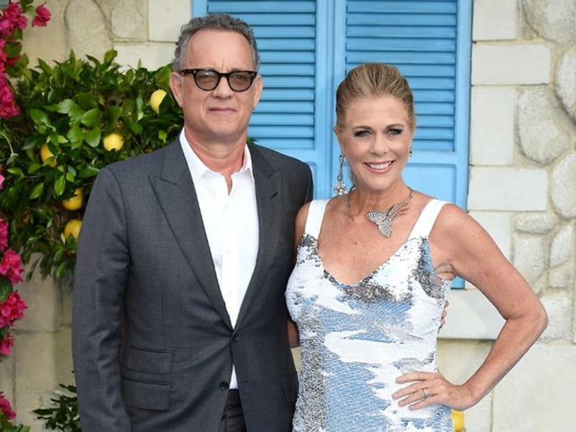 'Get well soon!': Tom Hanks, Rita Wilson get some love from Hollywood stars