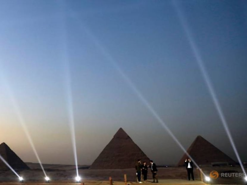 Egypt upgrades visitor experience at Giza pyramids site, opens restaurant with a view