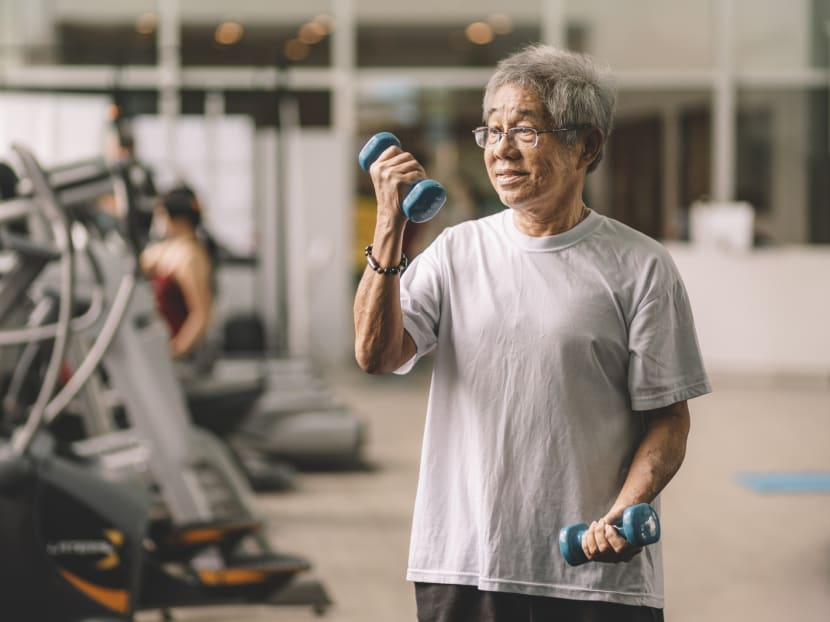 Keeping ageing muscles fit is tied to better heart health later