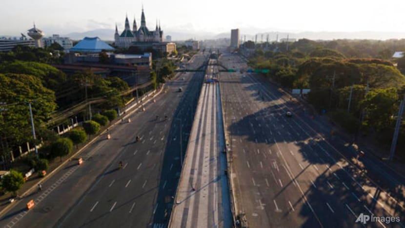 Good Friday and COVID-19 lockdown empty Manila's streets