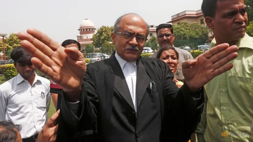 Prominent Indian lawyer found guilty of contempt, fined one rupee