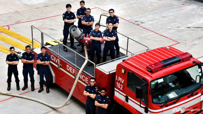 SCDF firefighters recount Pulau Busing blaze, 'probably the biggest' fire they've seen