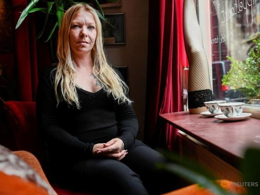 Kissing off menu as lockdown ends for Dutch sex workers