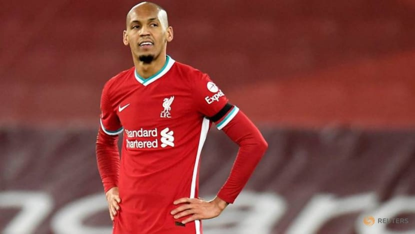 Fabinho out as Liverpool suffer another injury blow