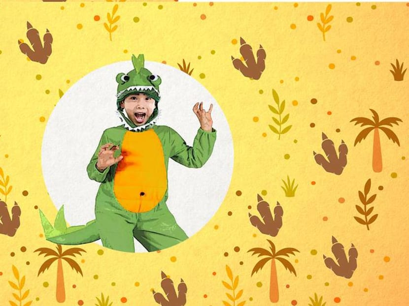 Making dinosaur costumes for your kids is an underrated parenting skill