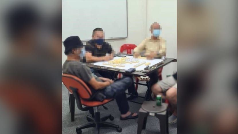 13 people investigated for illegal gambling offences, breaching safe distancing measures in Bukit Batok