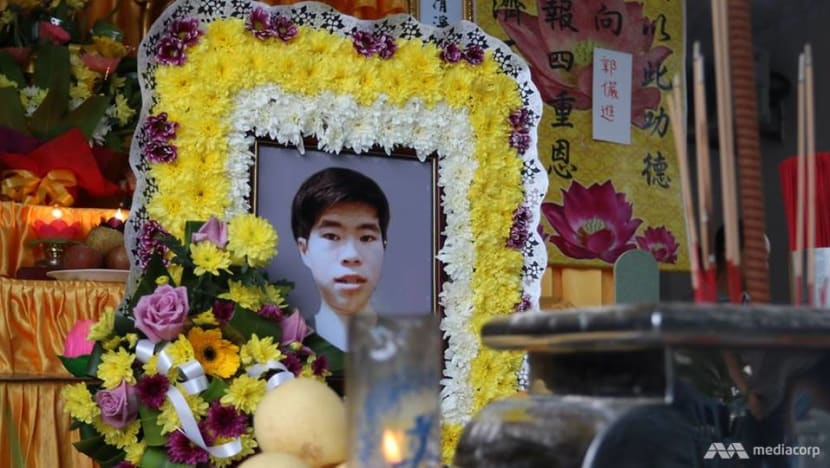 SCDF NSF death: Corporal Kok Yuen Chin's last conversation with his father
