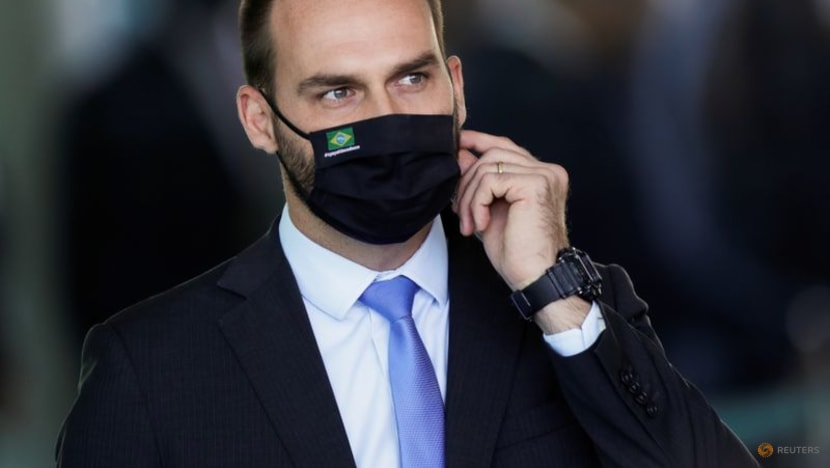 Bolsonaro's son and two cabinet members diagnosed with COVID-19