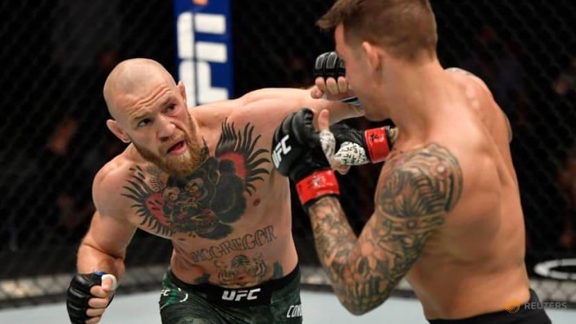 MMA: UFC's McGregor announces third fight with Poirier