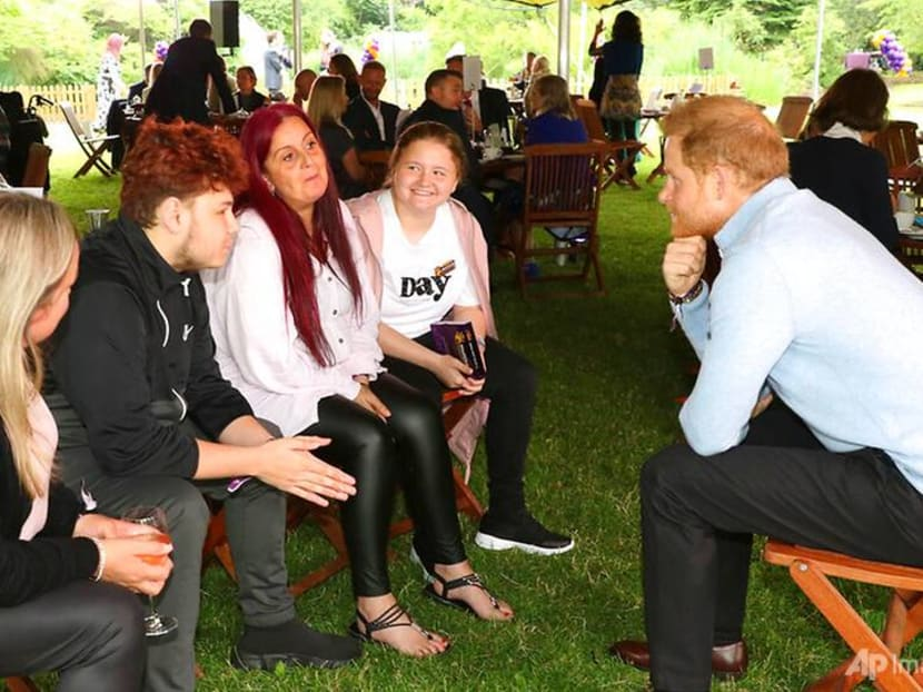 Prince Harry pays surprise visit to London charity event while in town for statue unveiling