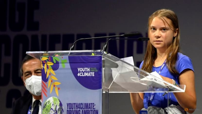 Thunberg slams 30 years of climate 'empty words'