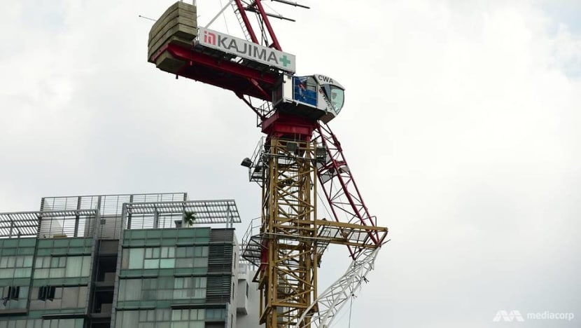 1 dead after crane collapses at construction site of new TTSH rehab facility