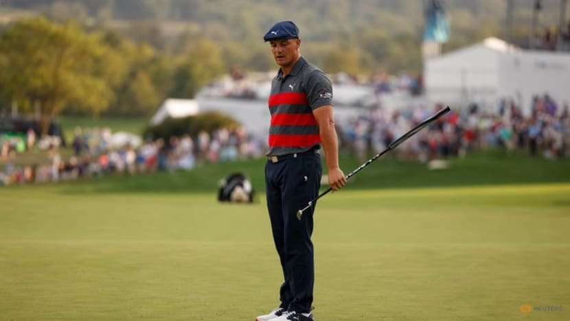 Golf: DeChambeau 'wrecked' his hands from long drive contest training
