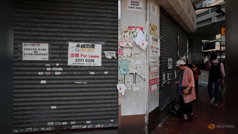 Hong Kong shops shutter as months of protest darken economic gloom