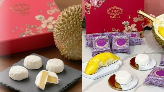 和彭亨榴梿园合作 五谷丰首度推出猫山王榴梿冰皮月饼