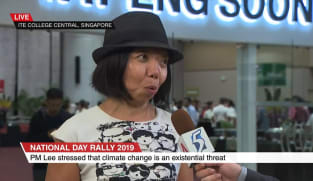 NDR 2019: Singaporeans need to take 'urgent action' on climate change, says NMP Anthea Ong | Video