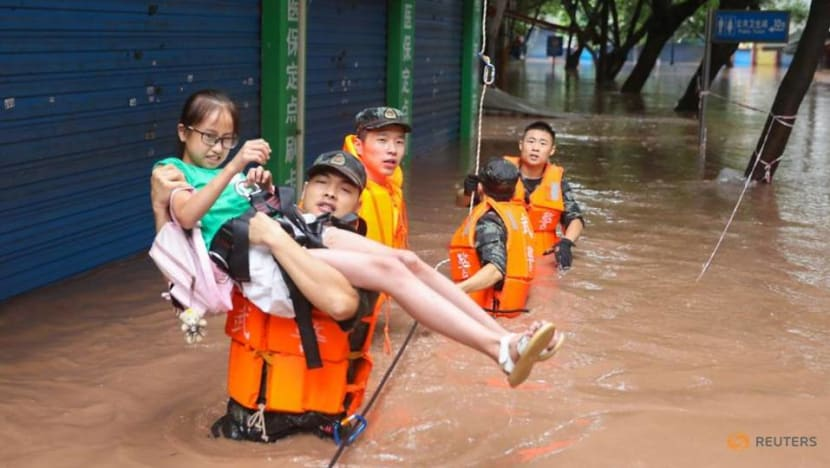Commentary: China struggles with 'once-in-a-century' floods that may be new normal