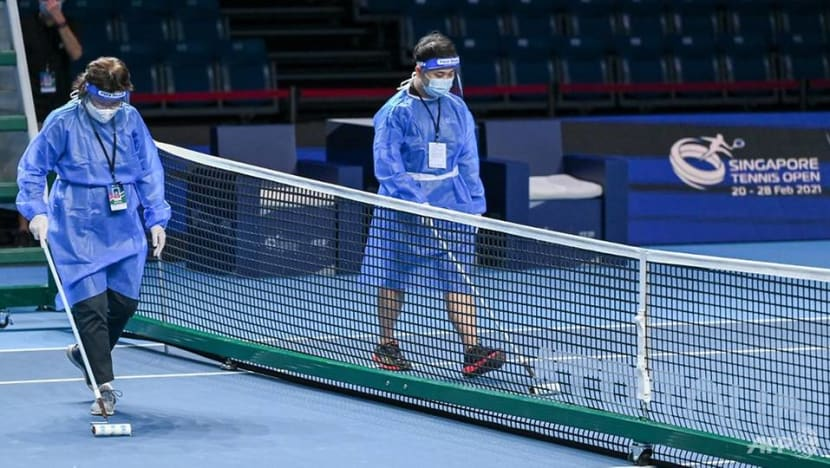 Spectators to be allowed at Singapore Tennis Open, with COVID-19 test and cap on capacity